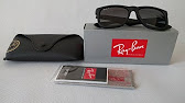 95c5f36030 Unboxing RayBan RB4202 6153 55 - YouTube