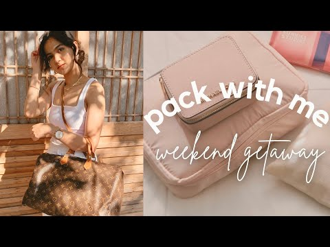 Pack with me