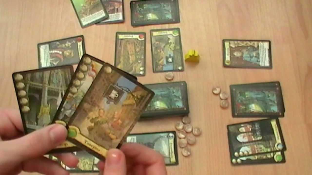 Настольная игра «Цитадели» — обзор - YouTube