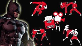 Batman Fight Scene Breakdown - Batman vs. Deathstroke - Arkham Origins Trailer