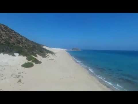The most secret beach in North Cyprus - [aerial footage] {Parrot Bebop drone]