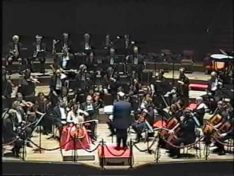 Allison Eldredge: performs Tchaikovsky Rococo Variations (cadenza)