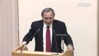 видео: Лекция Д.Фридмана, президента аналитического агентства Stratfor