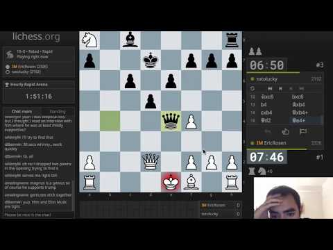Playing Tricky Openings in 10-minute chess