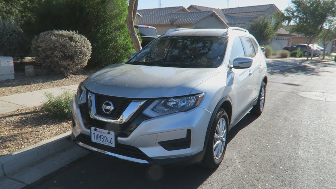 Review 2017 Nissan Rogue Sv