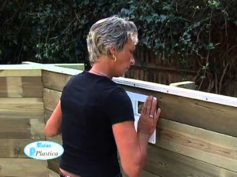 How to install an Above Ground Wooden Pool - The steps involved - DIY