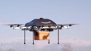 Amazon.com Drones Will Deliver Products Within 30 Minutes of Purchase Announces CEO Jeff Bezos