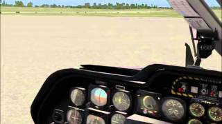 X-Plane 10 - BK 117 Proper Start Up!