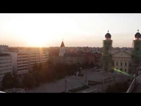 Debrecen naplemente timelapse