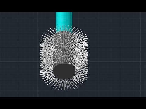 brush design - autocad tutorial