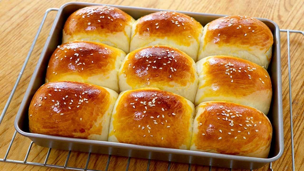 牛奶麵包做法:基礎配方,新手也能一次成功,鬆軟拉絲,簡單美味【夏媽廚房】 - YouTube