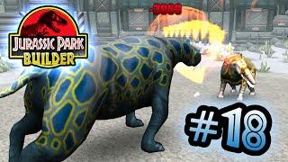 Jurassic Park Builder: GLACIER Tournament: Part 17 Deinosuchus the Little Ripper! HD