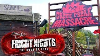 Thorpe Park Fright Nights Vlog 2019