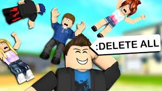 ANNOYING ROBLOX ADMIN COMMANDS PRANKS