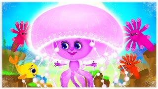 Бейбі Шарк Українською - Дитячі Пісні та Мультики - З Любов'ю до Дітей