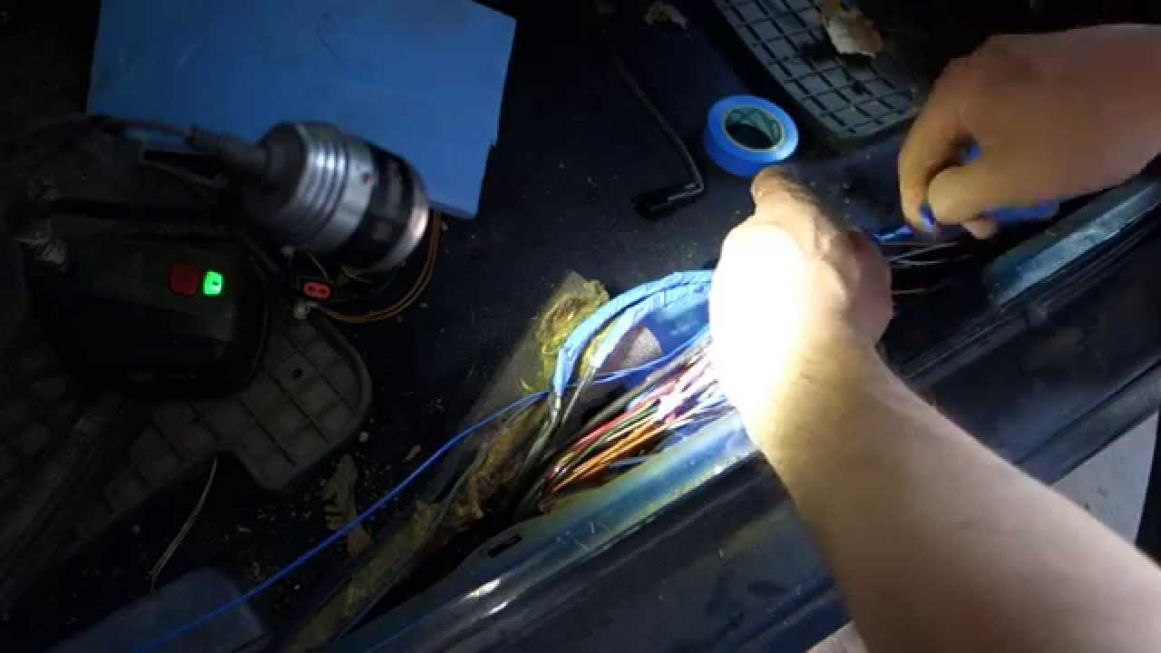 maxresdefault how to repair damaged electric wires and cables in car or pickup Wire Harness Maintance at crackthecode.co