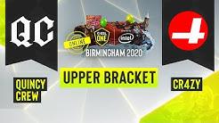 Dota2 - CR4ZY vs. Quincy Crew - Game 1 - ESL One Birmingham 2020 - Upper Bracket - NA