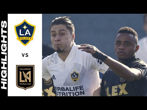Los Angeles Galaxy Los Angeles FC Goals And Highlights