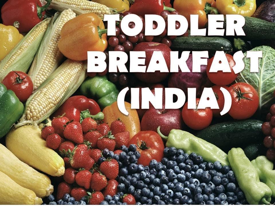 Toddler Breakfast Idea 3 India