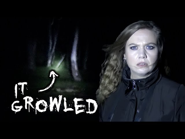 SOMETHING GROWLED at Me! | Investigating The Haunting of Anstey Hill