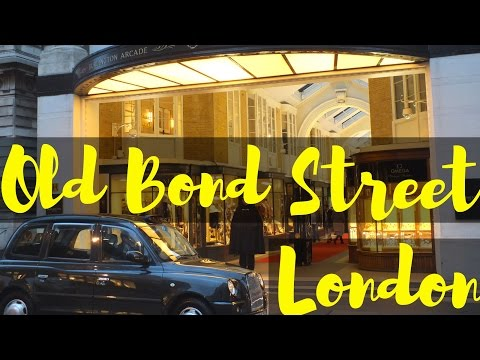 Old Bond Street, London (Close To Piccadilly Circus) | Travel Blog | Traveling | Shopping London
