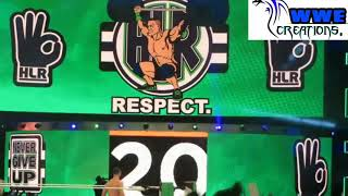 John Cena Live Entrance | Royal Rumble 2018 (Crowd Chants John Cena Sucks)