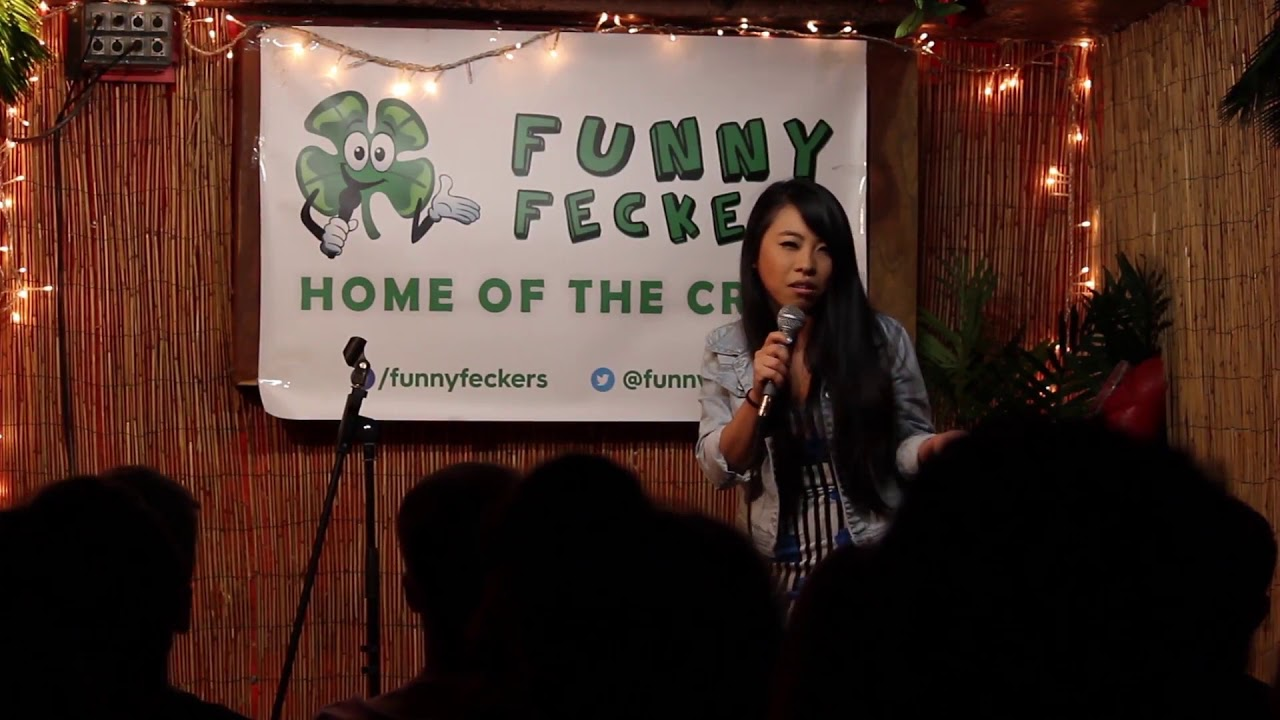 Ginnia Cheng - June 23rd, 2018 at Funny Feckers - Blue Comedy Open Mic