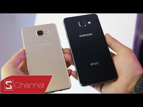 Schannel – Trên tay Galaxy A7 2016 đầu tiên tại Việt Nam: Giá tầm trung, trải nghiệm cao cấp
