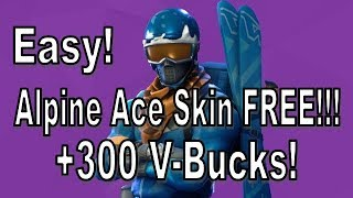 Fortnite - How to Get Alpine Ace for Free!!! [Fastest and Easiest Tutorial!]