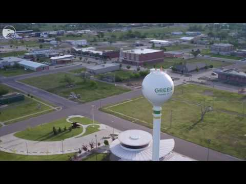Drone Video: Greensburg, Ks ten years after