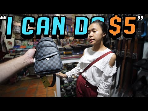Cambodia Fake Market Spree!