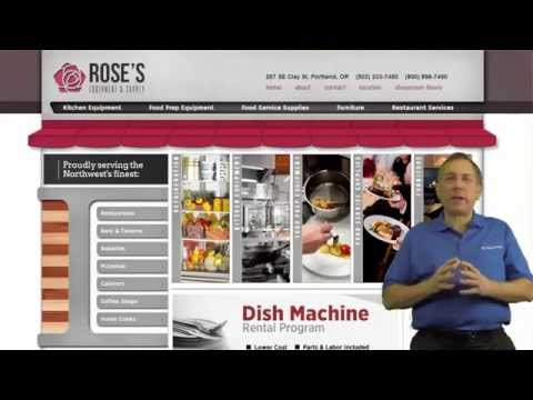Rose's  Equipment & Supply  With Food Service Equipment And Supplies For The Pacific Nortwest