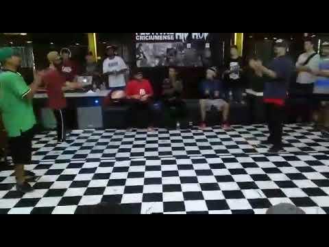 Xoxim e well vs Wagner e Rogério final festival CRICIUMENSE HIP Hop