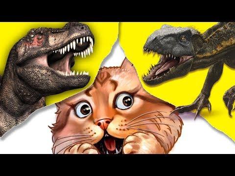 Эти монстры заставят тебя попотеть! Пройди тест на внимательность и найди отличия динозавров!