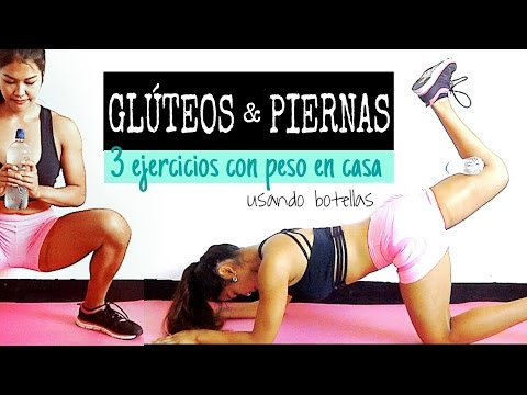 rutina para piernas y gluteos con pesas