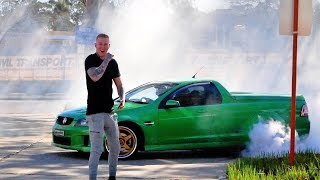 ARRESTED BY THE POLICE FOR THIS BURNOUT