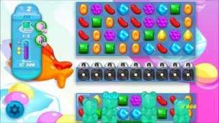 Candy Crush Soda Saga Level 218 - No boosters