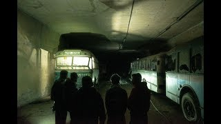 Ghost Buses Found Underground In the City - Stranger Things Vibes