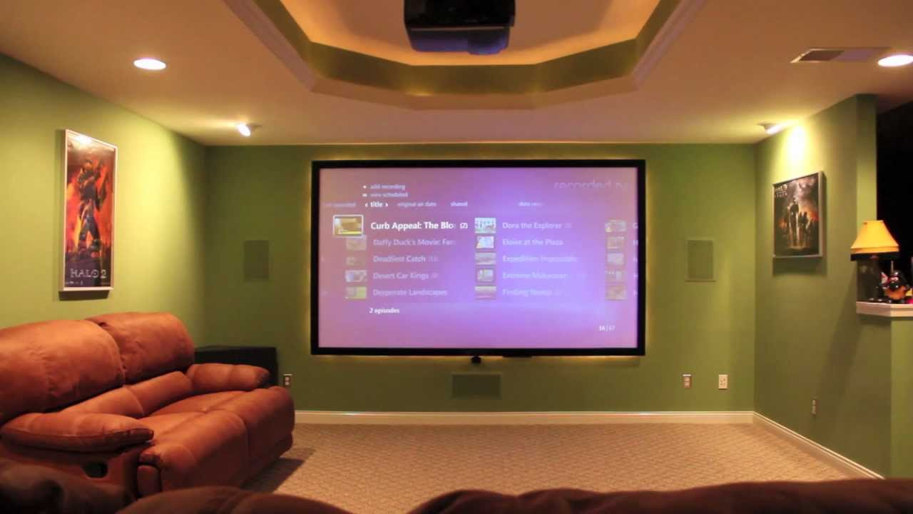 Home Theater IR Controlled Lighting & Home Theater IR Controlled Lighting - YouTube