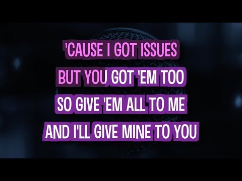 Issues | Karaoke Version in the style of Julia Michaels