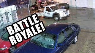 Grand Marquis vs White Knight tow truck