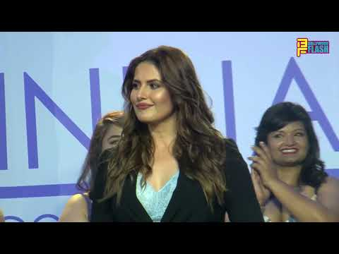 Zareen Khan As Showstopper At Parfait A Size-Inclusive Lingerie Brand Launching In India