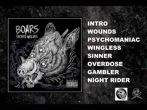 SACRED WOLVES - Boars (Full Album 2018) Hard Stoner Rock