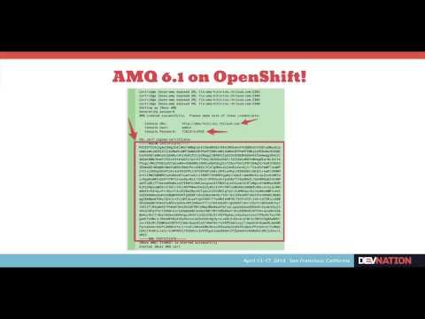 Intro to JBoss AMQ 6.1 DevNation