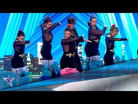 this-flamenco-dance-group-is-spectacular!-|-auditions-7-|-spain's-got-talent-season-5