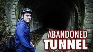 Inside a Haunted Abandoned Japanese Tunnel