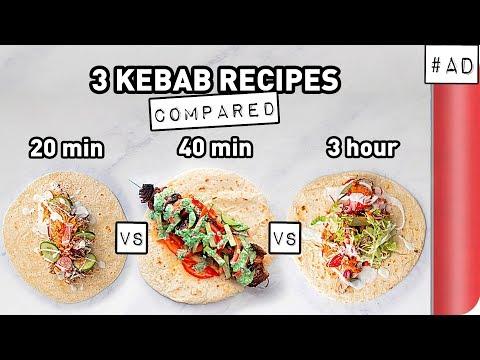 3 Kebab Recipes COMPARED (Quick vs Lean vs Ultimate)