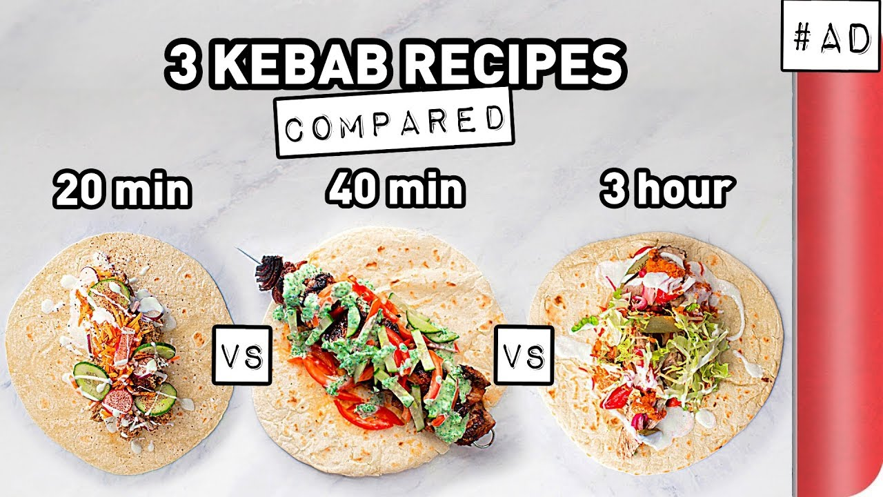 3 Kebab Recipes COMPARED (Quick vs Lean vs Ultimate) image