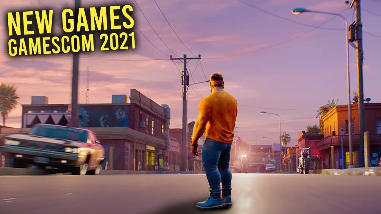 Download Top 10 NEW Games of Gamescom 2021