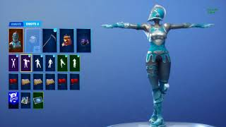"Fortnite Battle Royale: *NEW* FROZEN RED KNIGHT WITH ""CRACKDOWN"" EMOTE! (v7.10 Leaks)"